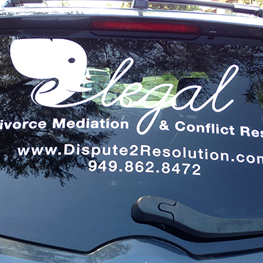 Vinyl Vehicle Lettering Example #2
